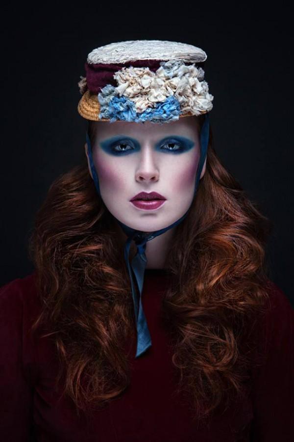 (c) Photography by Claudia Wycisk Model: Mathilda Catherine - Model Make up: Emile van Tile Hat : Candice Angelini