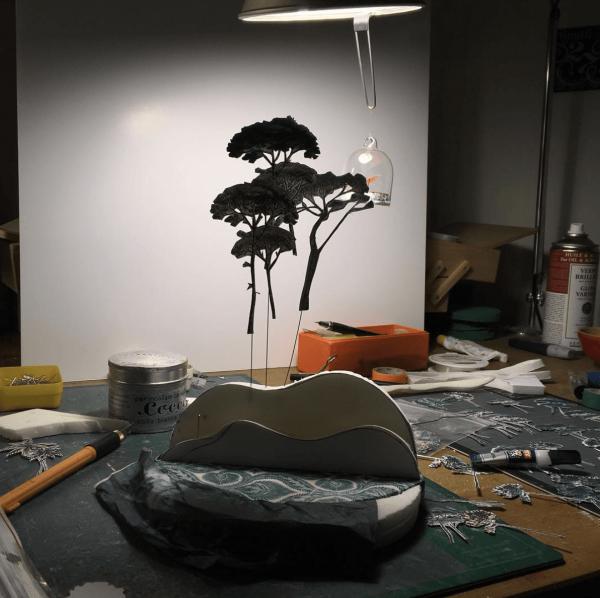 lenvers du décor blog créateur charlotte bourrus arbre