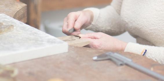 atelier-mains-créatrice-Els-Vansteelandt- L'Envers du Décor